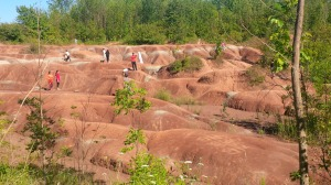 The Badlands in Cheltenham, Ontario